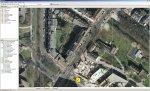 Die Lage der Versorgungskabel in Verbindung mit dem integrierten Luftbild